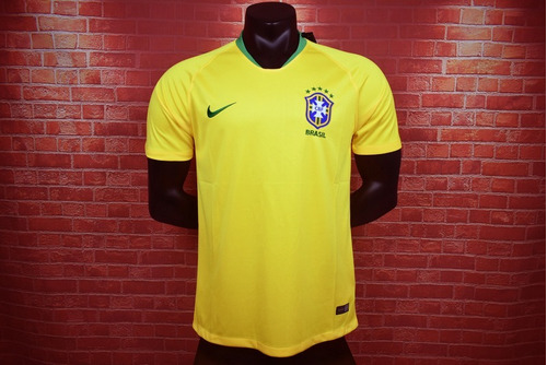 c5c59fddcd Camiseta Seleccion Brasil Local 2018 Neymar Jr Mundial