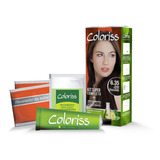 Tinte Capilar Coloriss Kit 6.35 - g a $210