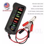 Probador De Carga De La Bateria 12v Analizar Digital Tester