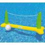 Cancha Piscina Voleibol Inflable Con Balón Intex