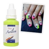 * Kit De 12 Pinturas Acrílicas Nail Art Decoración Uñas !!