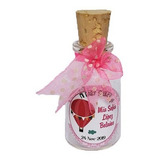 Recordatorios Babyshower Botellas Con Corcho