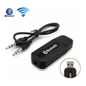 Adaptador Receptor De Audio Bluetooth Usb A Cable 3.5mm Jack