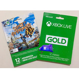 Xbox Live Gold 12 Meses Codigo Digital Microsoft Membresia