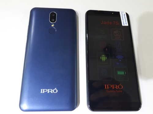 f2e80a953 Celular Ipro Jade 7s Barato Pantalla Grande Huella 5.7