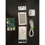 Raspberry Pi3 + Caja De Aluminio + Adaptador De Corriente