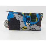 Cartuchera Infantil Batman  Dc Comics  Doble Compartimento