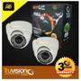 Kit Video Vigilancia Cctv Dvr 4 Canales + Camaras Ahd