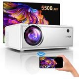 Proyector Led Yaber Wifi 5500 Lux Nativo Hd 720p 200 Pulgada