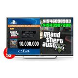Play 4/ Dinero+rp Gta V  / 10 Millones