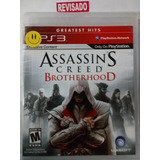 Assassing Creed Brother Hook Ps3 Original Físico Español