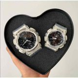 Reloj Pareja Transparentes 2 X 1 Colección Amantes Novios