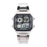 Reloj Casio Hombre Ae-1200whd Iluminator Original Luz Led