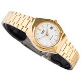 Reloj Casio Ltp-1170n Mujer Dorado Acero Analogo Original