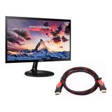 Monitor Led Samsung 22'' Ls22f350 Fhd Vga + Cable Hdmi  @pd