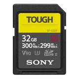 Memoria Sony De 32 Gb Serie Sf-g Tipo Tough - Sf-g32t