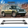 07-15 Jeep Patriot 4 Dr. Baca Oe Aluminio Cruz Barra Barra Jeep Patriot