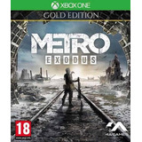 Oferta!! Metro Exodus Gold Edition Offline Xbx