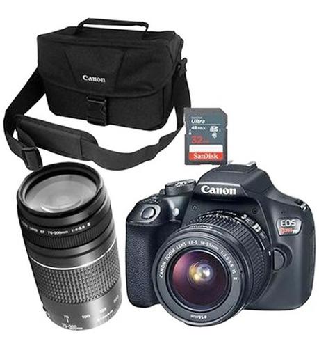 Camara De Fotografias Digital Canon Dlsr Lente T6 Kit