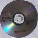 Dvd + R Doble Capa Kodak 8.5g 8x Virgen En Blanco X Uni