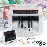 Máquina Contadora De Billetes Detector Uv De Billetes Falsos