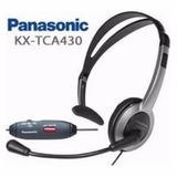 Diadema Panasonic Kx Tca430 Manos Libres Plegable Nuevo