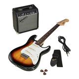 Kit Guitarra Electrica Fender Squier Bullet Mini Sq Combo