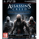 Pack Assassins Creed: Heritage Collection Ps3 5 Juegos