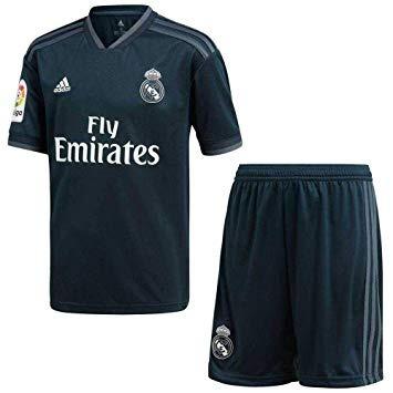 Uniforme Real Madrid 2018 (camisa + Pantaloneta) Para Niño. 75724c3832af2