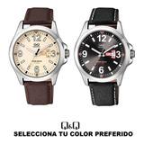 Reloj Q&q Hombre Colección De Lujo