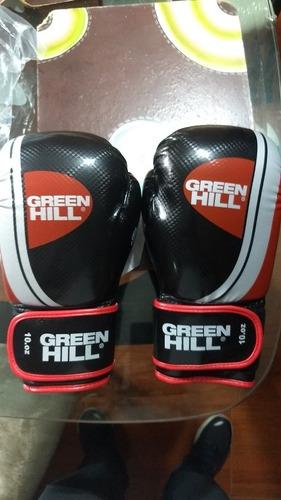 Guantes De Box Marca Green Hill