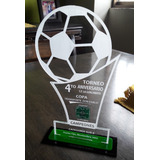 Trofeos En Acrilico Grabado En Laser Placas Medallas 15cm-2b