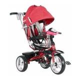 Triciclo Paseador Asiento Giratorio Maxibaby 4en1 Rojo Luces