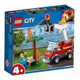 Lego City Barbecue En Apuros