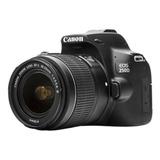 Camara Canon 250d (sl3) Con 18-55mm Video 4k / 24 Mpx  Wifi