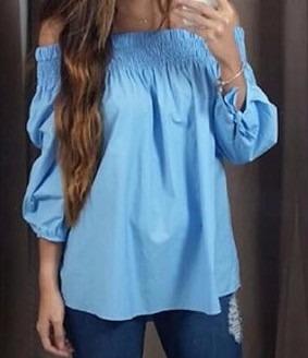 Blusas para mujer Limonni LI885 Campesinas