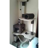 Gimnasios Rascadores  Para Gatos(+ 2 Juguetes)