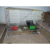 Jaula Para Animales Janter Conejos Curis