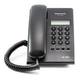 Teléfono Panasonic Kx-t7703 Con Identificador Negro