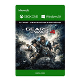 Gears Of War 4 Xbox One Y Windows Código Original Tenelo Ya