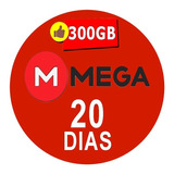 Cuentas Premium Mega 20 Dias Oficial 300gb Envio Inmediato