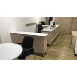 Oficina Amoblada Con Cocineta Y Baño
