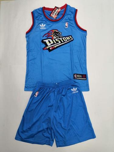 78ed997e553e7 Uniforme De Baloncesto Nba Detroit Pistons.   60000
