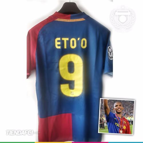 82fdbc8484ead Camiseta Nike Barcelona 09 10 Edición Final Champions Messi