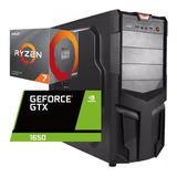 Torre Cpu Gamer Ryzen 7 3700x Gtx1650 1tb 8gb Pc Wifi Gratis