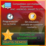 Servicio De Televisión, Series Y Películas (iptv Internet).