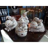 Payaso En Porcelana Montifiero Spain Antiguo Precio X C/u