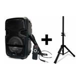 Cabina Tws Portátil En Combo + Trípode + Control +micrófono