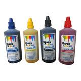 Tinta Sublimacion  Impresoras Epson Kit  X 4 Colores 120 Ml.