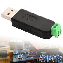 5pcs Usb-485 Usb A Rs485 Adaptador Convertidor Window 7 8 Xp